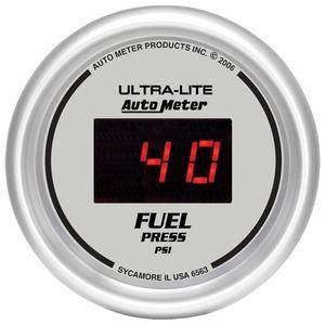 AutoMeter 6563 Ultra-Lite Digital Fuel Pressure Gauge
