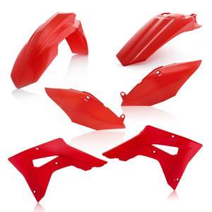 Acerbis Red Plastic Kit For Honda CRF 450 RX 2017 2645460227