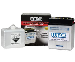 WPS CB7B-B Conventional 12V Heavy Duty Battery With Acid Pack