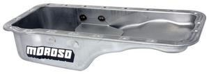 Moroso Stock Replacement Engine Oil Pan 5 in Deep Ford FE-Series P/N 20606