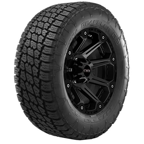 2-35x12.50R20 LT Nitto Terra Grappler G2 121R E/10 Ply BSW Tires