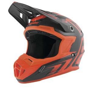 Answer AR-1 Edge Helmet Charcoal/Flo Orange (Orange, X-Small)