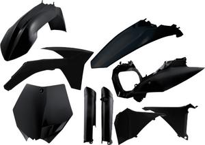 Acerbis Black Plastic Full Kit For KTM SXF XCF 11-12 2205280001