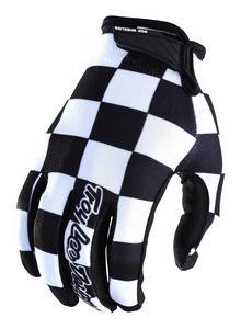 Troy Lee Designs Air Checker Gloves Black/White (Black, Medium)