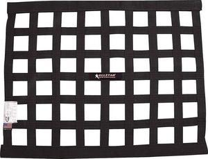Allstar Performance Window Net 1 In Webbing 18 x 24 in Rectangle Black P/N 10285