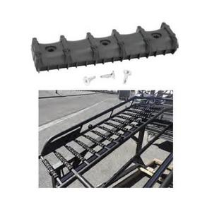 Bowdriks Industries 4055 RAMP-ROS-BAR-PR Ramp Crossbar Protector with Traction - 5 Pack