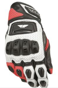 Fly Racing FL2-S Gloves White/Red (White, XXX-Large)