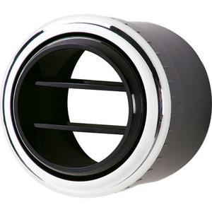 BILLET SPECIALTIES Round 2-1/2 in Polished Air Conditioning Vent P/N 38110