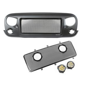 Rugged Ridge 12034.35 Spartan Grille Insert Kit Fits 07-18 Wrangler (JK)