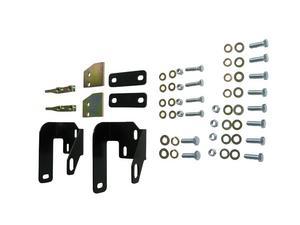 Hanson Offroad JRR-TL Bumper Mounting Hardware; Rear;