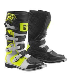 Gaerne SG-J Youth Boots White/Yellow/Black (Black, 1)