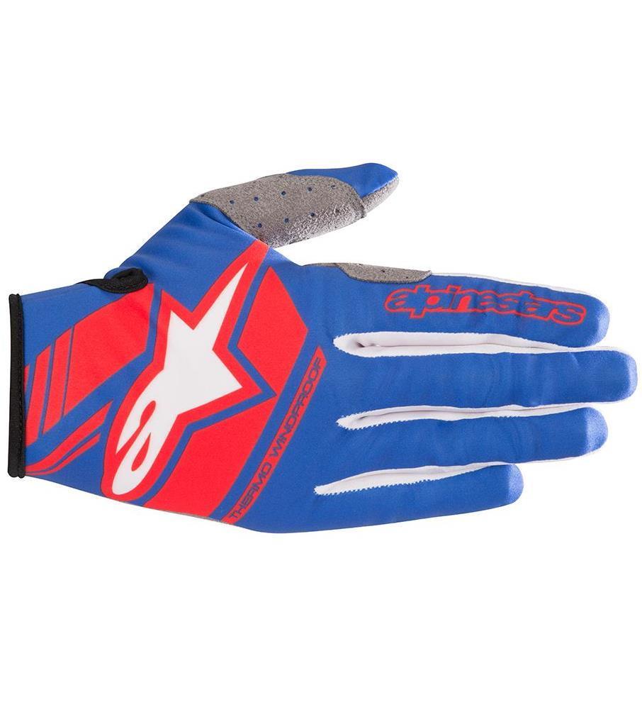 Alpinestars Neo Gloves Blue/Red (Blue, Large)