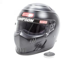 SIMPSON SAFETY Size 7-1/8 Flat Black Speedway RX Helmet P/N 6517188