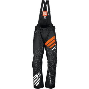 Arctiva Comp Insulated Bib Black/Orange (Black, XX-Large)