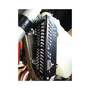 Unabiker Radiator Guards Black For Husqvarna TE250/310 11-12 HQTE310-K