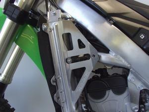 Works Connection Radiator Braces For Kawasaki KX 250 F 2009 18-196