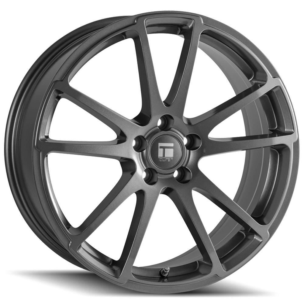 "Touren TF03 Flow Formed 18x8 5x4.5"" +40mm Gunmetal Wheel Rim 18"" Inch"