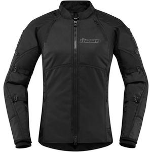 Icon Automag 2 Womens Jacket Stealth (Black, Small)