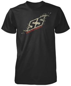 Speed & Strength Critical Mass T-Shirt Charcoal (Black, Small)
