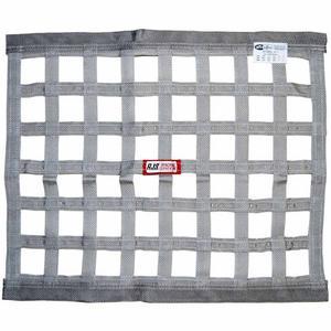 RJS SAFETY 18 x 24 in Rectangle Gray Window Net P/N 10000407