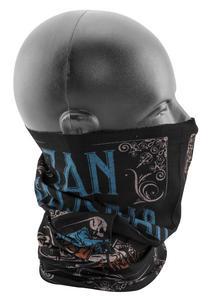 Zan Headgear Motley Tube ZAN 94 (Black, OSFM)
