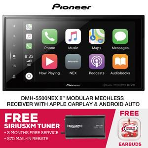 Pioneer DMH-C5500NEX Modular Digital Media Unit + SiriusXM Tuner