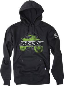 Factory Effex Licensed Kawasaki KX Bike Pullover Hoodie Black Youth Size S
