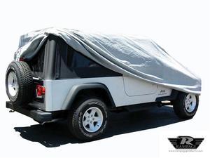 Rampage 1202 Custom Car Cover Fits 04-06 Wrangler (LJ)