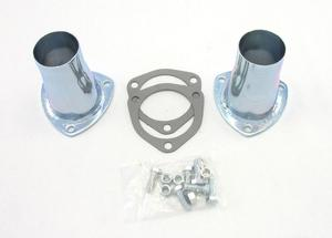 PATRIOT EXHAUST 3-Bolt Flange Steel Collector Reducer 2 pc P/N H7251