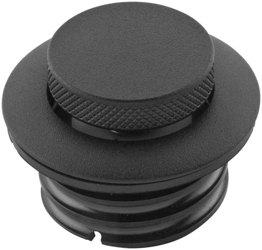 Bikers Choice 012023 Screw-In Type Pop Up Gas Cap - Black