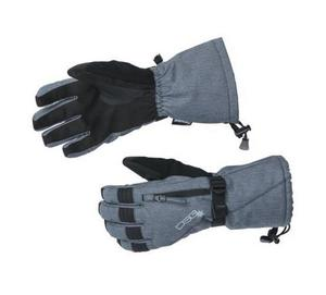 DSG Craze 3.0 Womens Gloves Heather Charcoal (Gray, Small)