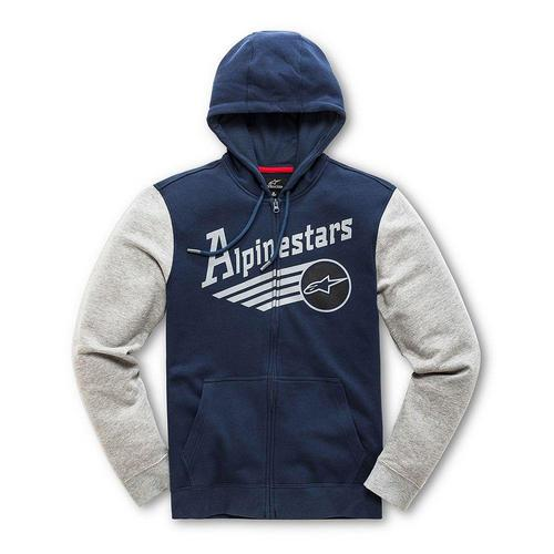 Alpinestars Chief Fleece Hoody Navy (Blue, Medium)