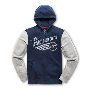 Alpinestars Chief Fleece Hoody Navy (Blue, X-Large)