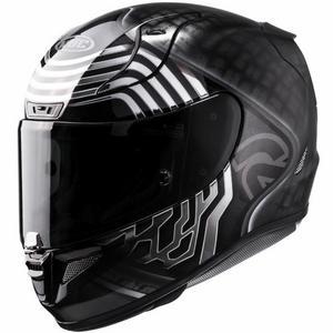 HJC RPHA 11 Pro Star Wars Kylo Ren Helmet Black (MC-5) (Black, X-Large)