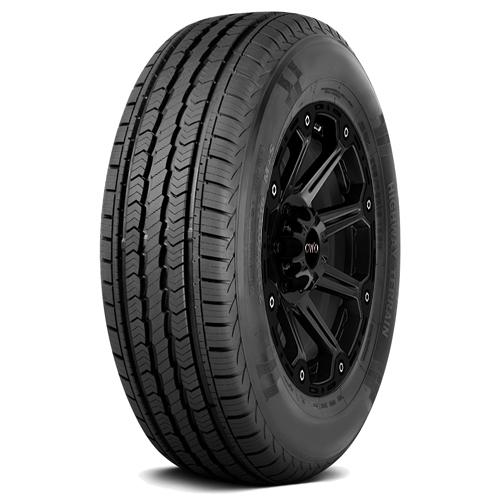 4-LT245/75R17 Travelstar HT701 121/118S E/10 Ply BSW Tires