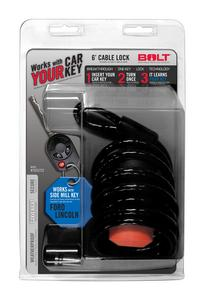 BOLT 6FT. CABLE LOCK FORD SIDE CUT