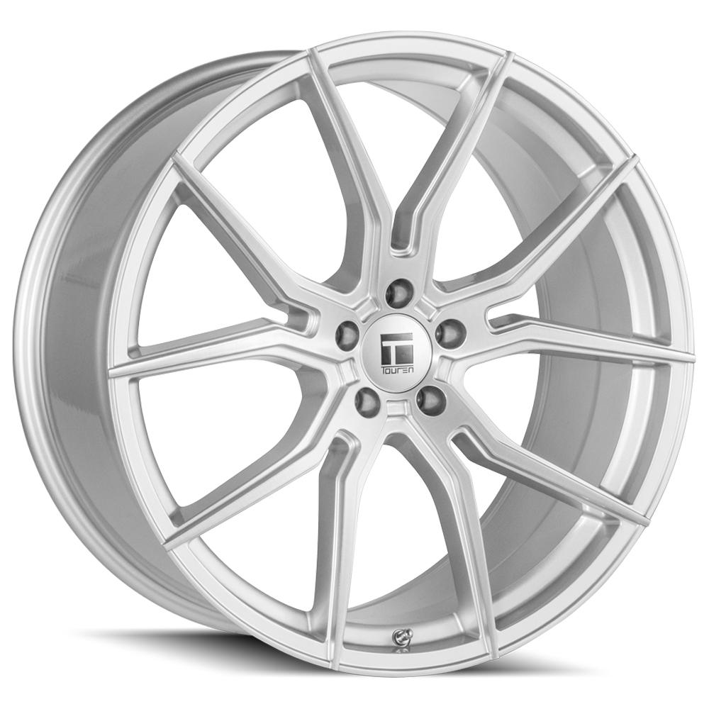 "Touren TF01 Flow Formed 22x10.5 5x112 +45mm Brushed Wheel Rim 22"" Inch"