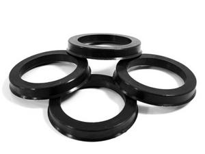 70.50 MM ID x 72.62 MM OD - POLYCARBONATE HUB CENTRIC RINGS - SET OF 4
