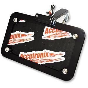 Accutronix LPF024HV-B Horizontal or Vertical Side-Mount License Plate Kit