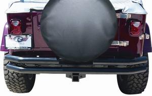 Rampage 7648 Rear Double Tube Bumper