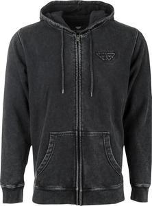 Fly Racing Snow Wash Hoodie (Black, X-Large)