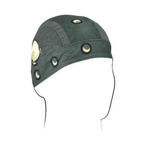 Zan Headgear Flydanna Headwrap Viking (Green, OSFM)