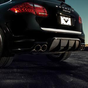 Vorsteiner V-CT Aero Rear Bumper Carbon Fiber Diffuser Porsche 958 V-CT Cayenne