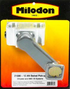 MILODON External Oil System Oil Pump Pickup Mopar B/RB-Series/Hemi P/N 21330