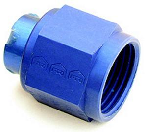 A-1 Products Blue Aluminum 3 AN Cap P/N 92903