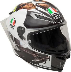 AGV Adult Motorcycle Helmet P-LTD Misano-16 S