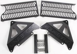 Unabiker Radiator Guards Black For Honda CRF250R 06-09 HF250R-K