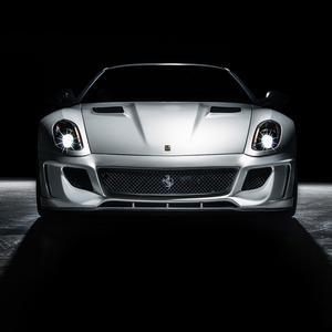 Vorsteiner 599-VX Aero Louvered Race Hood Carbon Fiber Vents Fits Ferrari 599 VX