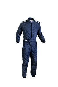 OMP Racing Black LG Double Layer First-S Driving Suit P/N IA01828A07156