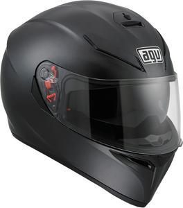 AGV ADULT K-3 SV Matte Black Motorcycle Helmet M-L Medium/Large